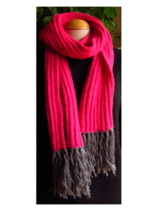 Hot & Pink Scarf